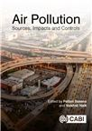 Cover for Air pollution: sources, impacts and controls.