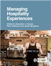Cover for Managing hospitality experiences.