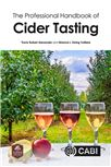 Cover for The professional handbook of cider tasting