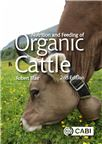 Cover for Nutrition and feeding of organic cattle.