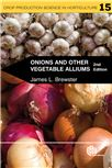 Cover for The genetics and plant breeding of allium crops.