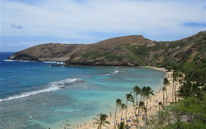 Holiday hotspot Hawaii at risk from climate change