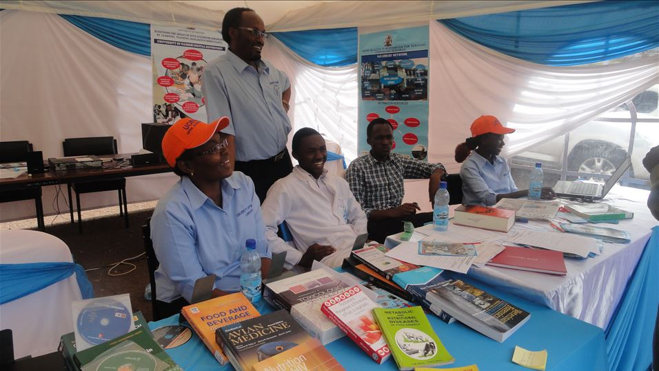 University of Nairobi Library exhibition stand