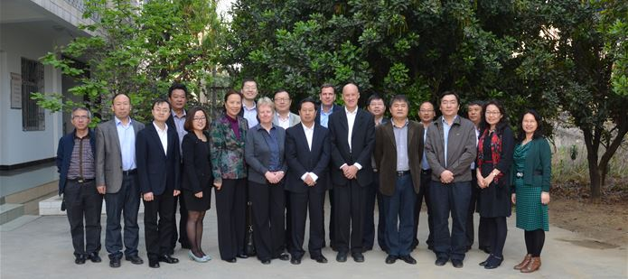Steering Committee of the China-CABI Joint Laboratory held in China