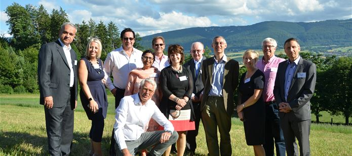 CABI board welcomed to Switzerland