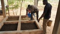 Installation of a fly rearing facility at Bobo-Dioulasso, Burkina Faso