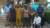 Project team at Inception Workshop in Accra, 11-13 February 2015