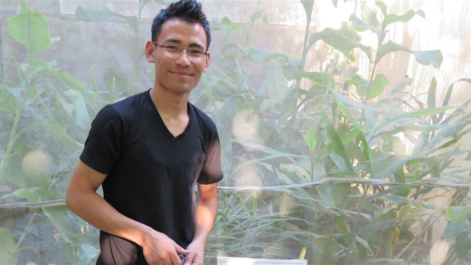 Sangay Bhutia (PhD student associated with project from Sikkim University)