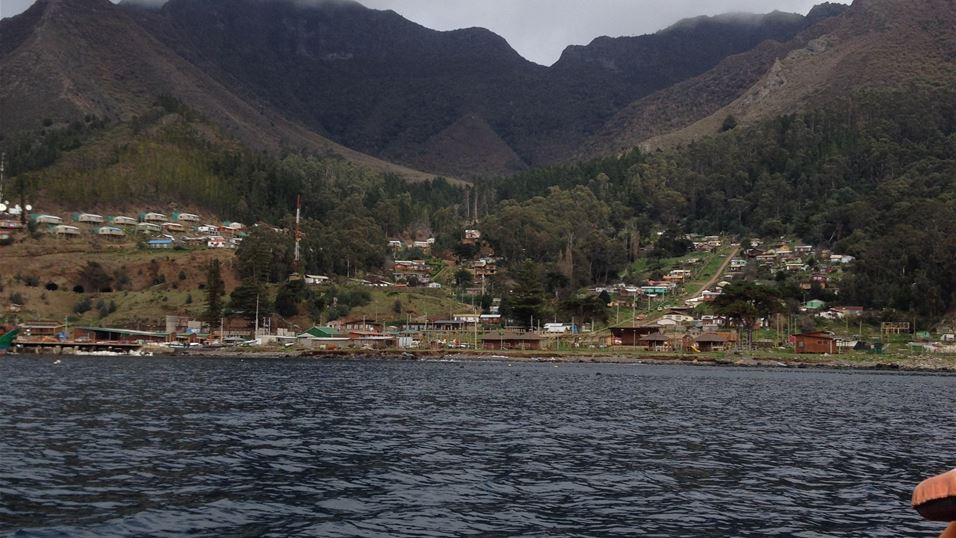 4. Robinson crusoe island only town where its 700 residents live
