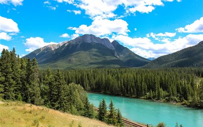 Banff National Park.