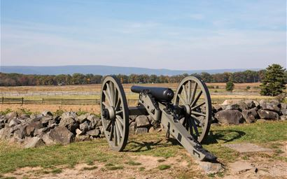 Cannon in Gettysburg National Park