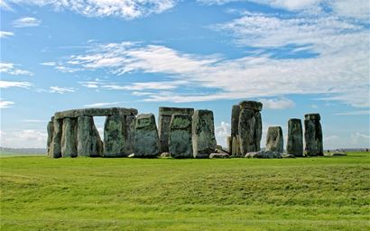 Stonehenge stone circle near Salisbury in Wiltshire.