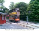 The National Tramway Museum  in Derbyshire, UK
