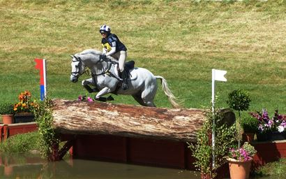 Horse trials - cross country
