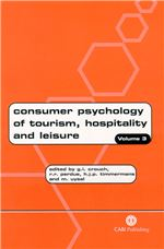 Consumer Psychology of Tourism, Hospitality and Leisure: