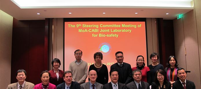 9th Steering Committee of China-CABI Joint Laboratory held in Beijing
