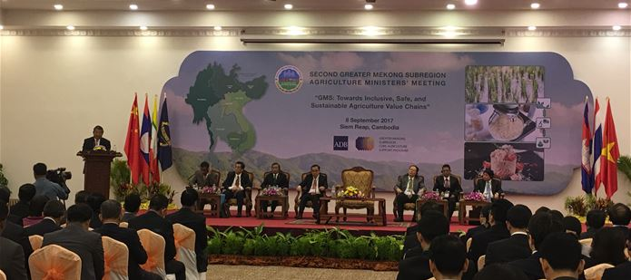 CABI participates in the Second GMS Agriculture Ministers' Meeting, Cambodia