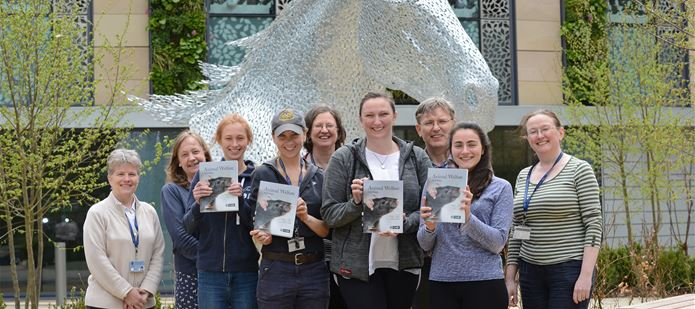 CABI donates books to prize-winning students at The Royal (Dick) School of Veterinary Studies