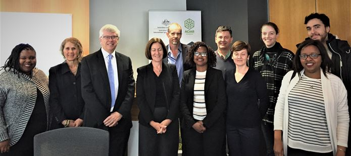 CABI grows relations with ACIAR following trip to Australia