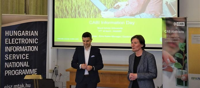 CABI showcases its expertise in agricultural knowledge to Hungary's researchers and scientists