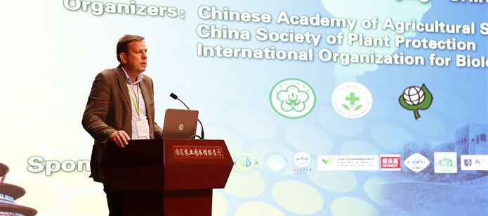 CABI shares its expertise on biological control at international congress in Beijing, China