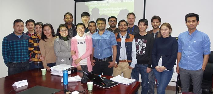 Students learn Integrated Pest Management techniques in Beijing