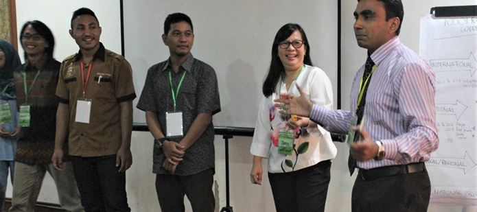 CABI shares its expertise at the International Master Class in Plant Biosecurity in Indonesia