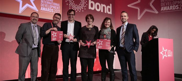 Plantwise wins the 2017 Bond Development Award for Innovation