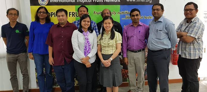 CABI strengthens collaborations with the International Tropical Fruits Network