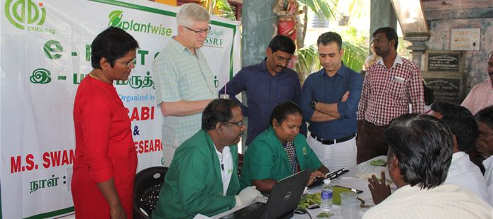 CABI CEO visits India to see agricultural projects in action