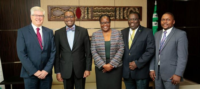 CABI delegation meets with President of African Development Bank