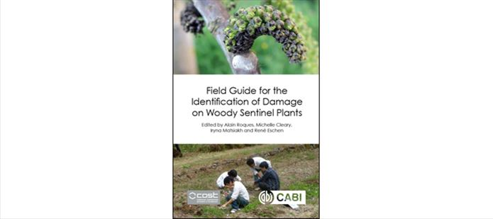 CABI scientist co-edits new field guide on woody sentinel plant damage