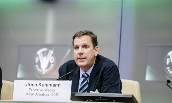 Dr Ulrich Kuhlmann at FAO