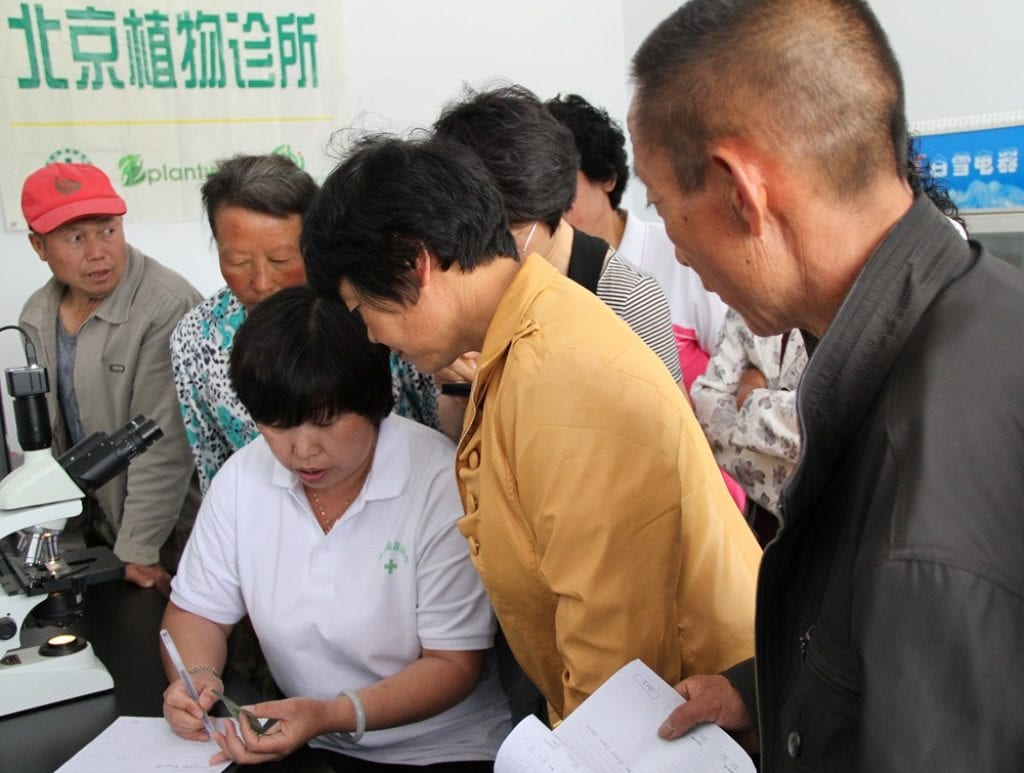 Plantwise clinic - Beijing