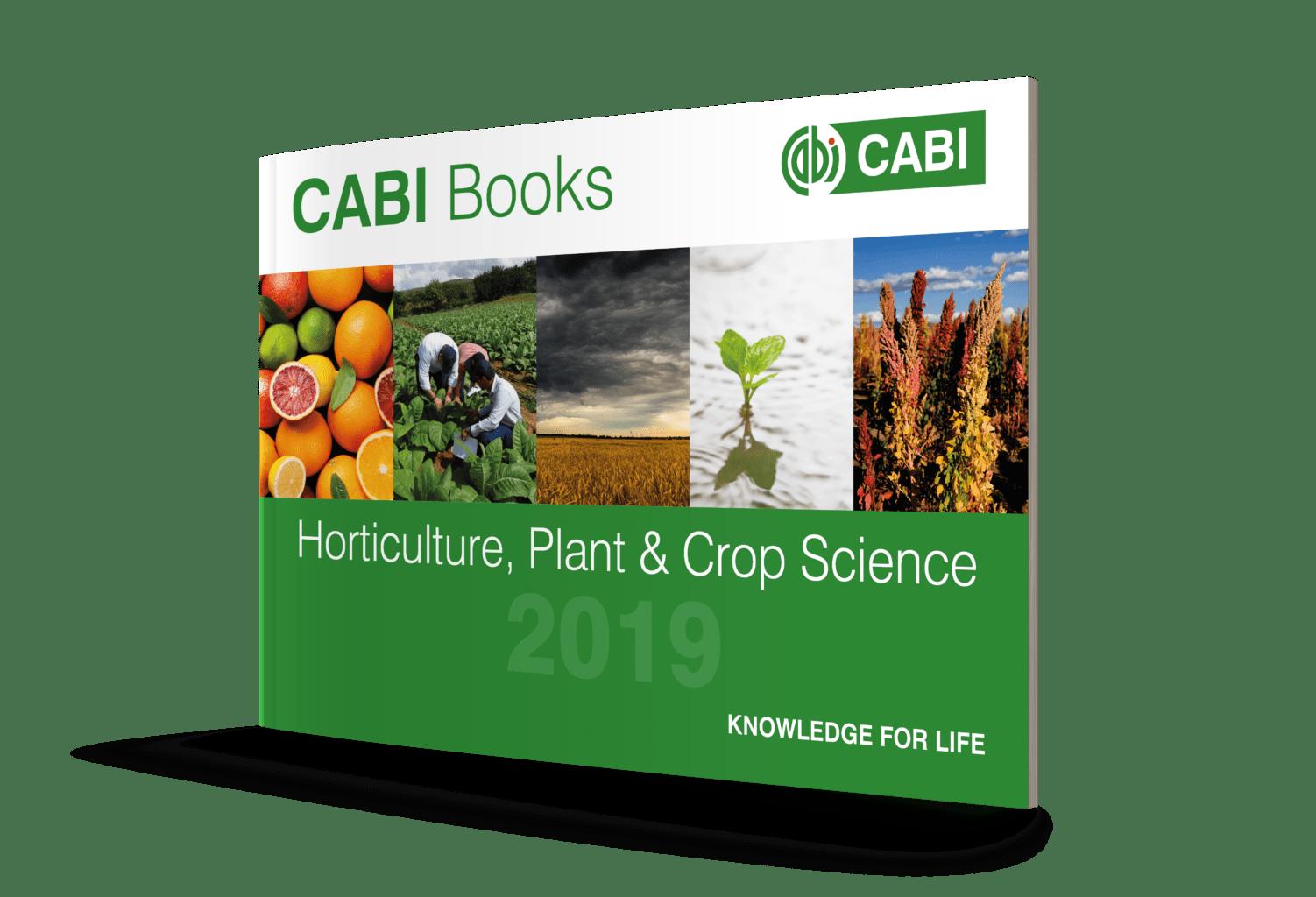 Horticulture, Plant & Crop Science Brochure 2019