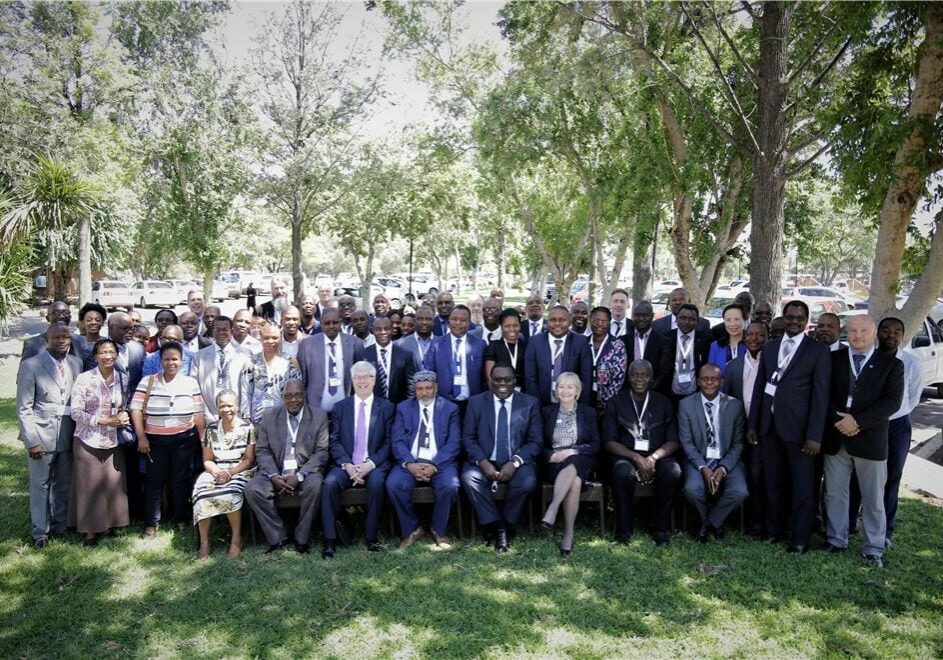 Group of people at Africa Regional Consulation