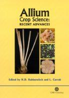 Allium Crop Science