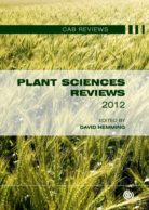Plant Sciences Reviews 2012